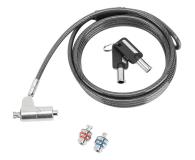 Targus  Defcon 3-in-1 Keyed Cable Lock - 624812 - zdjęcie 1