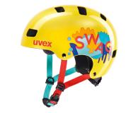 UVEX Kask Kid 3 żółty 55-58 cm - 634974 - zdjęcie 1