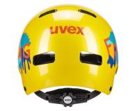 UVEX Kask Kid 3 żółty 55-58 cm - 634974 - zdjęcie 2