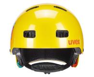 UVEX Kask Kid 3 żółty 55-58 cm - 634974 - zdjęcie 3