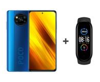 Xiaomi POCO X3 NFC 6/128GB Cobalt Blue + Mi Band 5 - 636173 - zdjęcie 1