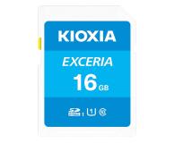 KIOXIA 16GB SDHC Exceria 100MB/s C10 UHS-I U1 - 636688 - zdjęcie 1