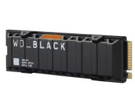 WD 1TB M.2 PCIe Gen4 NVMe Black SN850 Heatsink - 633193 - zdjęcie 3