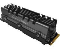 PNY 2TB M.2 PCIe Gen4 NVMe XLR8 CS3040 Heatsink - 635775 - zdjęcie 3
