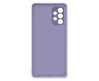 Samsung Silicone Cover do Galaxy A72 Violet - 637677 - zdjęcie 5