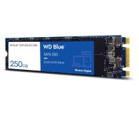 WD 250GB M.2 SATA SSD Blue - 380306 - zdjęcie 2