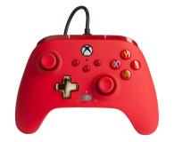 PowerA XS Pad przewodowy Enhanced Czerwony - 635891 - zdjęcie 1