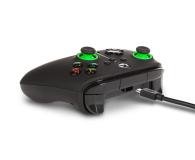 PowerA XS Pad przewodowy Enhanced Green Hint - 635893 - zdjęcie 4