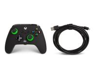 PowerA XS Pad przewodowy Enhanced Green Hint - 635893 - zdjęcie 6