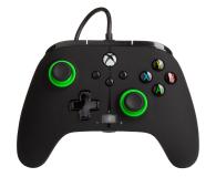 PowerA XS Pad przewodowy Enhanced Green Hint - 635893 - zdjęcie 1