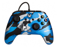 PowerA XS Pad przewodowy Enhanced Metallic Blue Camo - 635895 - zdjęcie 1
