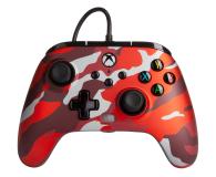 PowerA XS Pad przewodowy Enhanced Metallic Red Camo - 635896 - zdjęcie 1