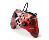 PowerA XS Pad przewodowy Enhanced Metallic Red Camo - 635896 - zdjęcie 2