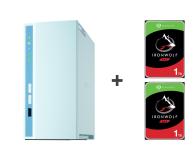 QNAP TS-230 2TB (2xHDD, 4x1.4GHz, 2GB, 3xUSB, 1xLAN) - 647776 - zdjęcie 1