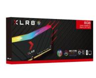 PNY 16GB (1x16GB) 3200MHz CL16 XLR8 RGB - 639164 - zdjęcie 3