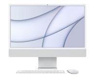 Apple iMac 24 M1/8GB/512/MacOS Retina 4,5K Silver - 648873 - zdjęcie 1