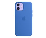 Apple Silikonowe etui iPhone 12 mini adriatycki błękit - 648985 - zdjęcie 1