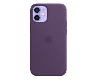 Apple Silikonowe etui iPhone 12 mini ametyst - 648988 - zdjęcie 1