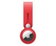 Apple Pasek skórzany do AirTag czerwony - 648802 - zdjęcie 1
