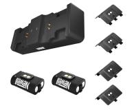 Newell XBO Gaming Set ładowarka + 2 akumulatory - Czarny - 653847 - zdjęcie 1