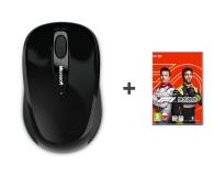 Microsoft Wireless Mobile Mouse 3500 USB Black + F1 - 657724 - zdjęcie 1