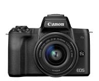 Canon EOS M50 czarny+ M15-45mm F3.5-6.3 IS STM+ M22mm - 646537 - zdjęcie 2