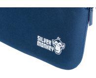 """Silver Monkey EasySleeve etui na laptopa 15,6"""" granatowe - 608407 - zdjęcie 5"""