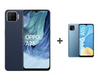 OPPO A73 4/128 AMOLED NFC Granatowy+A15 2/32 Niebieski - 652146 - zdjęcie 1