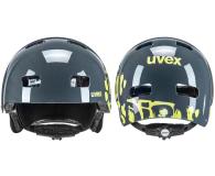 UVEX Kid 3 dirtbike szaro-zielony 51-55 cm - 648624 - zdjęcie 2