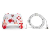 PowerA SWITCH Pad przewodowy Mario Red & White - 655750 - zdjęcie 8