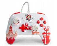 PowerA SWITCH Pad przewodowy Mario Red & White - 655750 - zdjęcie 1