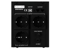Newell UPS U1000 (1000VA/600W, 3x Schuko, LCD)  - 655270 - zdjęcie 3