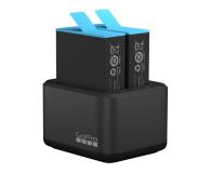 GoPro Dual Charger + Akumulator do HERO9 i HERO10 Black - 671089 - zdjęcie 1