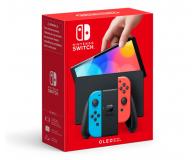 Nintendo Switch OLED - Czerwony / Niebieski - 667576 - zdjęcie 1