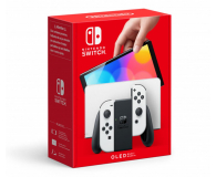 Nintendo Switch OLED - Biały - 667577 - zdjęcie 1
