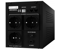 Newell UPS U1000 (1000VA/600W, 3x Schuko, LCD)  - 655270 - zdjęcie 4
