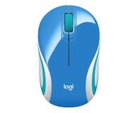 Logitech M187 Mini niebieska - 77086 - zdjęcie 1