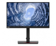 Lenovo ThinkVision T24i-20 czarny - 631829 - zdjęcie 1