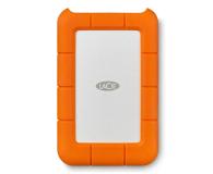 LaCie Rugged Mini 4TB USB 3.2 Gen. 1 Pomarańczowo-Szary - 298291 - zdjęcie 1