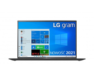 LG GRAM 2021 16Z90P i5 11gen/16GB/512/Win10 czarny - 639067 - zdjęcie 3