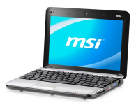 MSI Wind U135DX-1619XPL N455/2048/250 srebrny - 60729 - zdjęcie 1