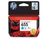 HP 655 CZ110AE cyan 600str. - 117711 - zdjęcie 1