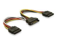 Delock Adapter SATA - 2x SATA 15cm - 172966 - zdjęcie 1