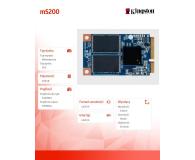Kingston 240GB 1,8'' mSATA SSD SMS200S3 - 185188 - zdjęcie 4
