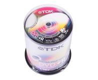 TDK 4.7GB 16x CAKE 100szt. (do nadruku)  - 30164 - zdjęcie 1