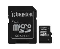 Kingston 32GB microSDHC Class4 +adapter SDHC - 60089 - zdjęcie 2