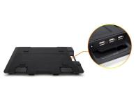 """Zalman Chłodząca ZM-NS2000 czarna (3x hub USB, do 17,3"""") - 165228 - zdjęcie 7"""
