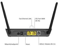 Netgear D1500 (802.11b/g/n 300Mb/s) - 209847 - zdjęcie 3