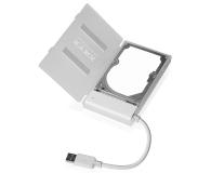 """ICY BOX Obudowa do dysku 2.5"""" (USB 3.0, transparentny) - 211685 - zdjęcie 1"""