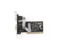 Gembird COM / RS-232 x2 na PCI (port szeregowy - serial) - 172864 - zdjęcie 2